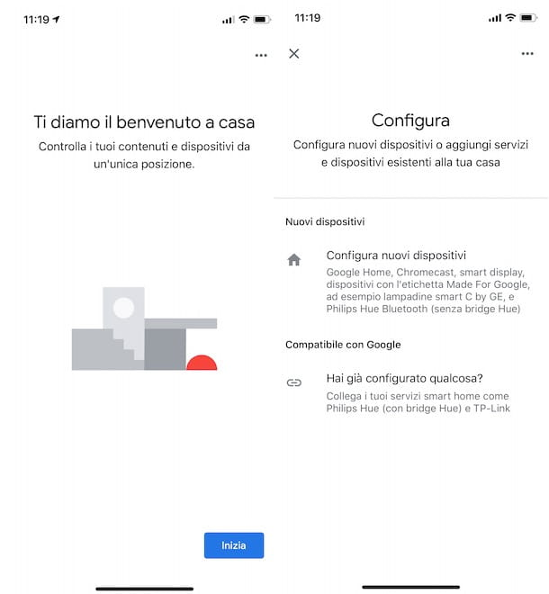 Come configurare Google Home Mini