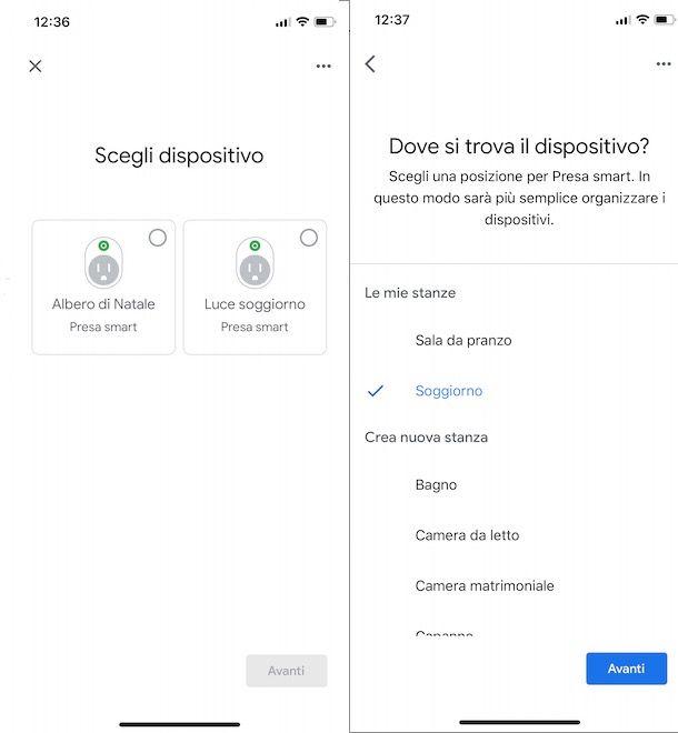 Aggiungere dispositivi a Google Home
