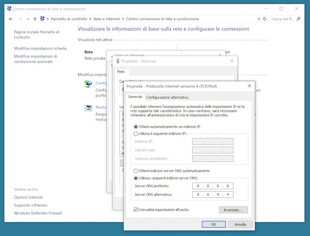 DNS Windows 10