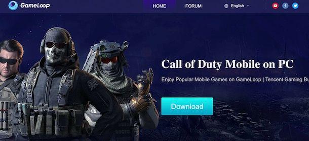 Scaricare Call of Duty Mobile su PC