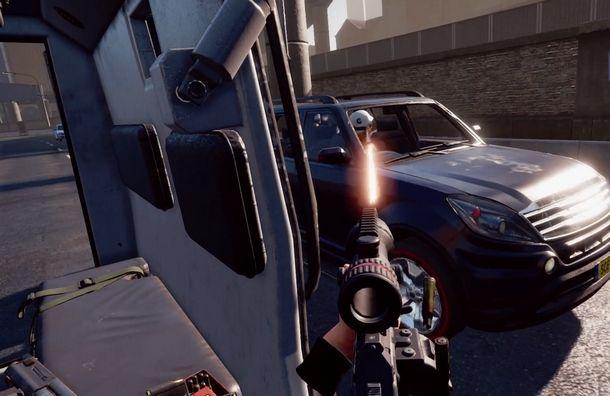 Adrenalina e azione VR con Blood & Truth
