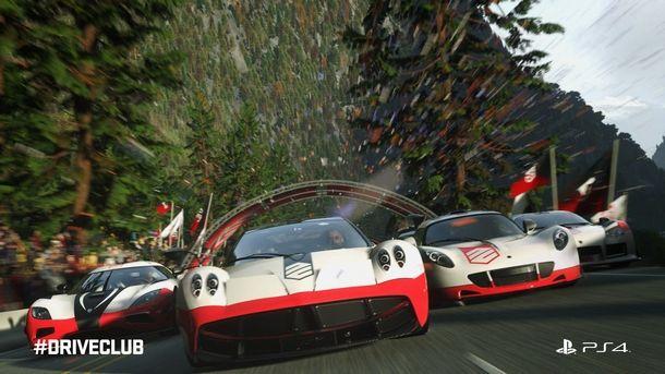 I bolidi di DRIVECLUB su PS4