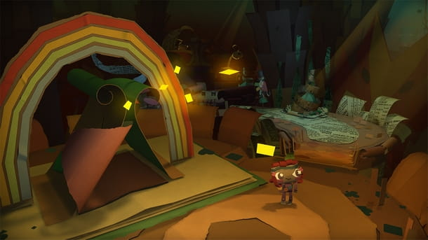 Tornano le avventure di carta di Tearaway su PS4
