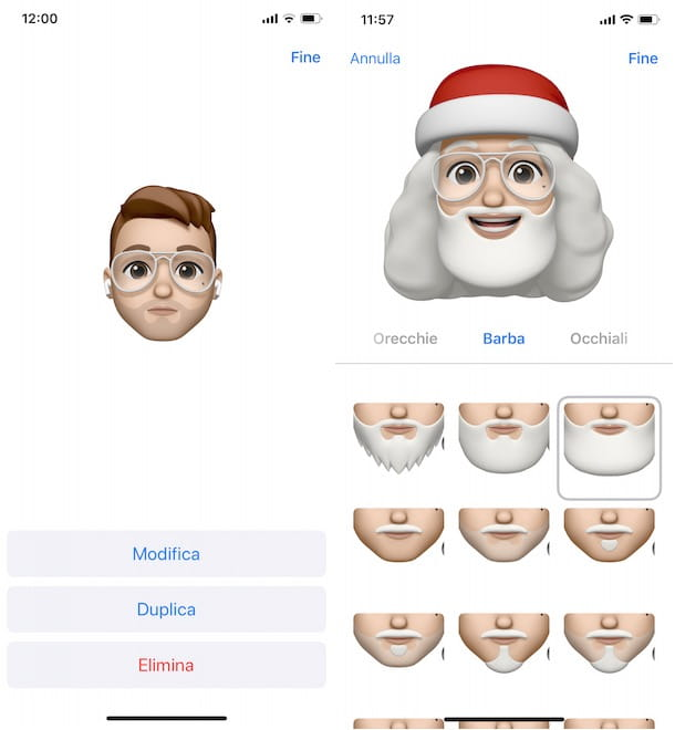 Come modificare la propria Memoji