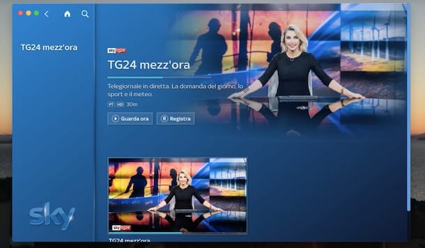 Come registrare dispositivo a Sky Go