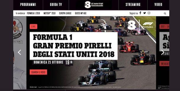 Migliori siti per vedere la Formula 1 gratis