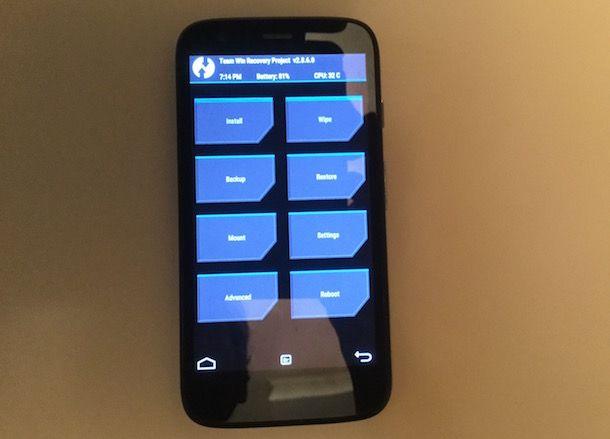 Come scoprire password telefono Android