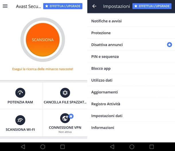 Avast per Android