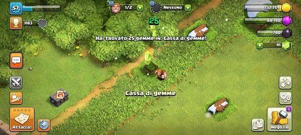 Cassa di gemme Clash of Clans