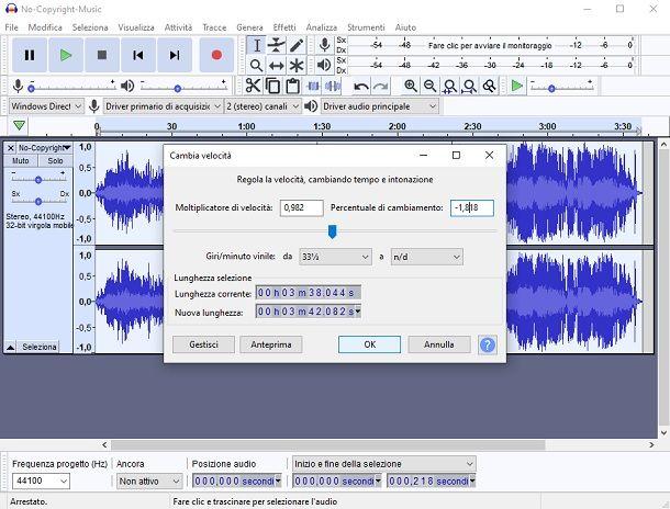 Come convertire musica in 432 Hz