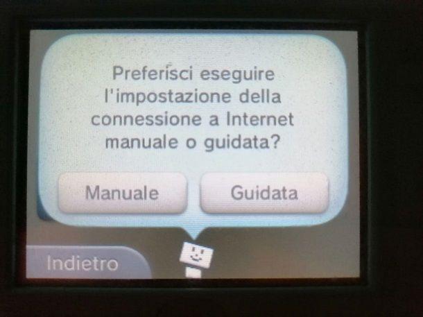 Connessione guidata Nintendo 3DS
