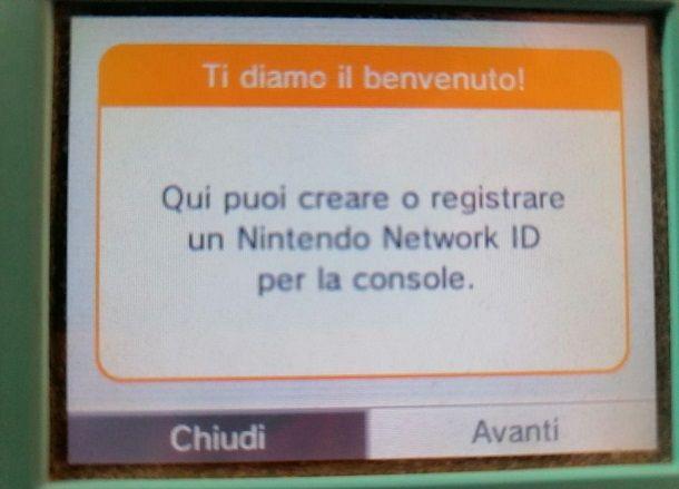 Creare Nintendo Network ID