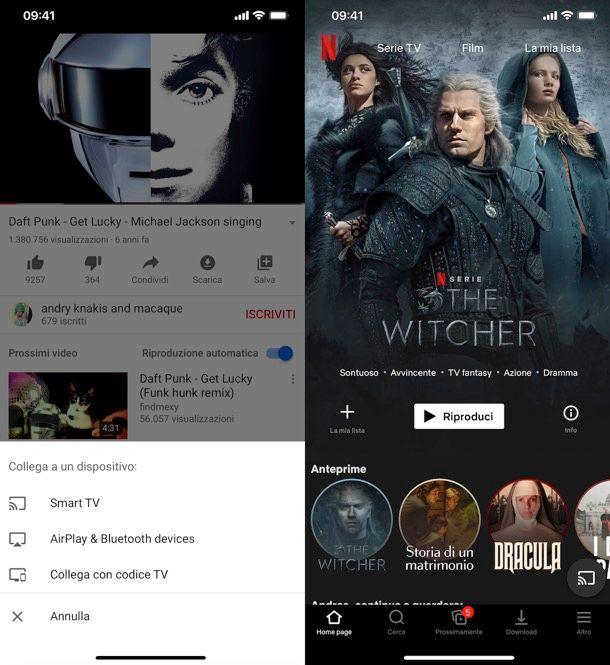 Come collegare iPhone alla TV Smart
