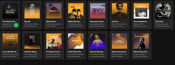 Hip hop spotify