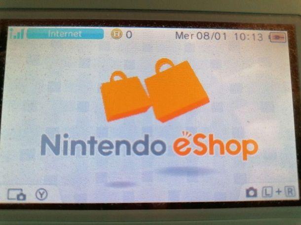 Nintendo eShop Nintendo 3DS