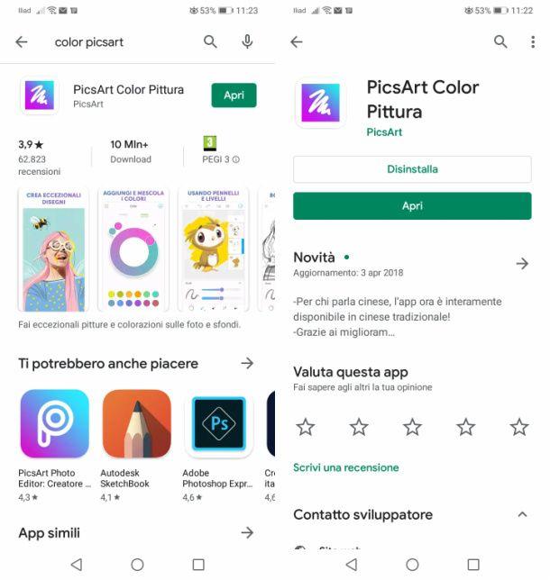 Pics Art Android