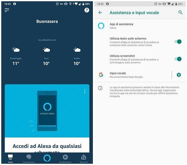 Come collegare Alexa con il telefono
