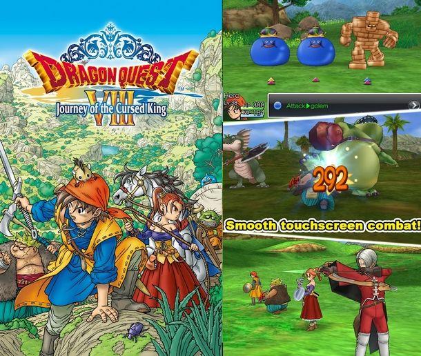 Un grande classico degli RPG 3D più moderni: Dragon Quest VIII
