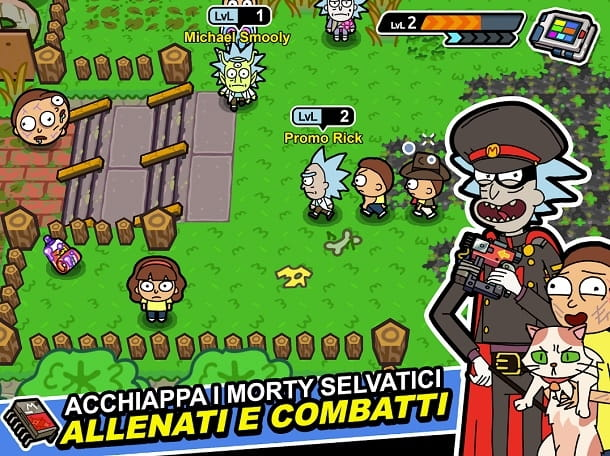 Pocket Morty: il folle RPG stile Pokémon