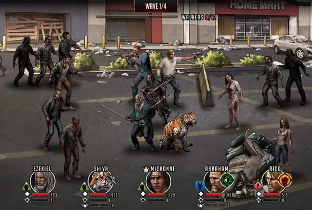 I morti che camminano di Walking Dead in RPG