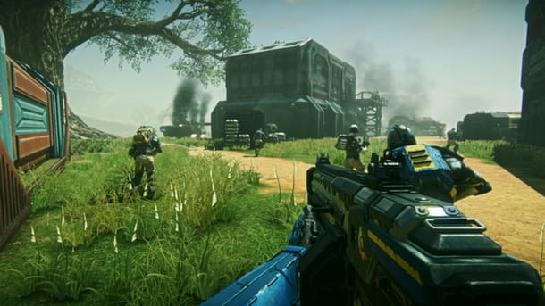 Battaglie in larga scala attendono in Planetside 2