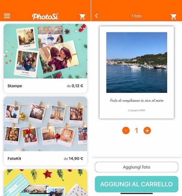 PhotoSì app