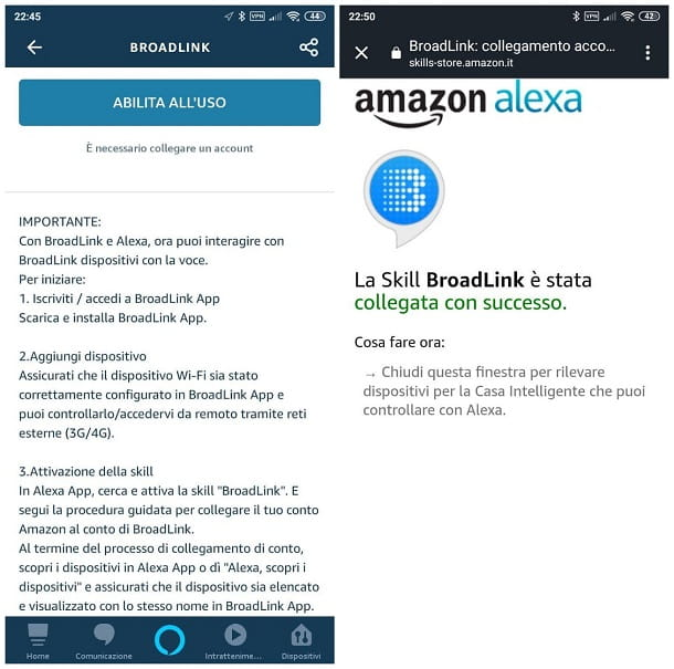 Come accendere la TV con Alexa