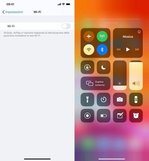 Come disattivare Internet su iPhone