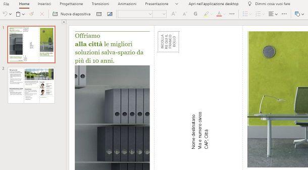 Brochure su Web