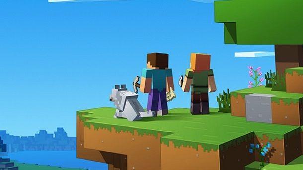 Minecraft con un amico