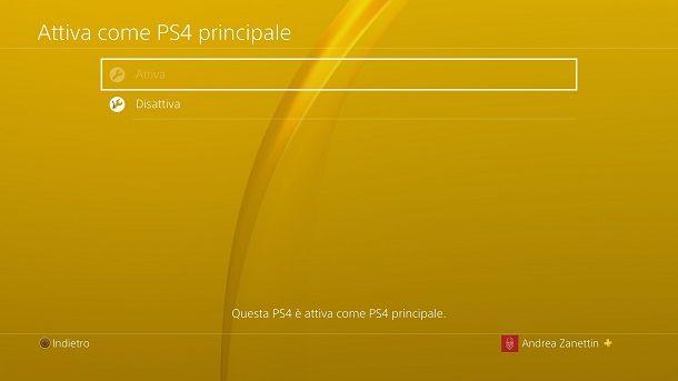 PS4 principale