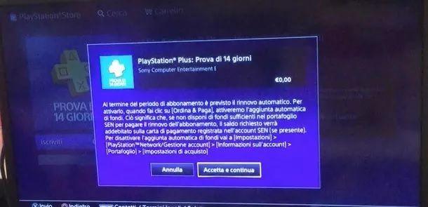 Prova PlayStation Plus