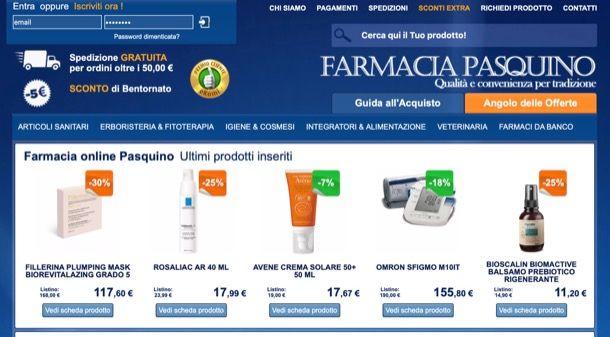 Altre farmacie online