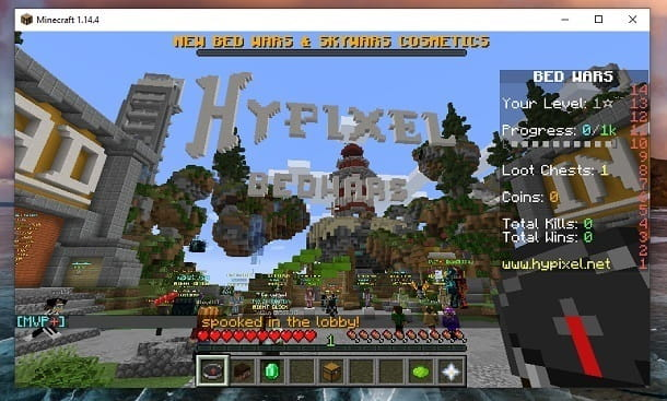 Server Hypixel Minecraft