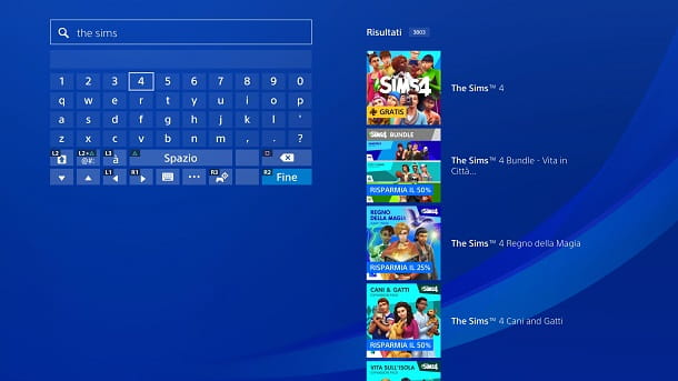 The Sims 4 PS Store