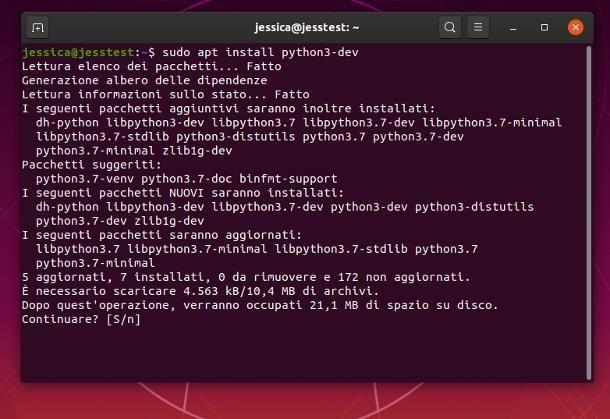 Come programmare in Python su Ubuntu