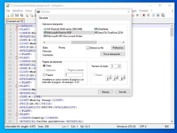 Programmi per XML in PDF