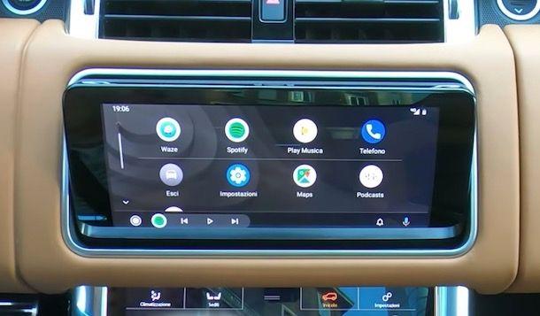 Comeinstallare Android Auto su auto compatibili