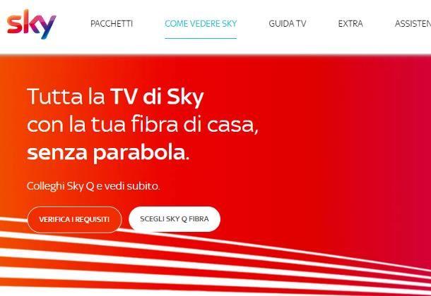 Come vedere TV satellitare senza parabola