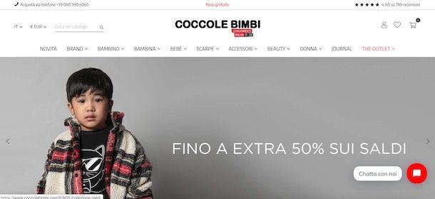 Coccole Bimbi