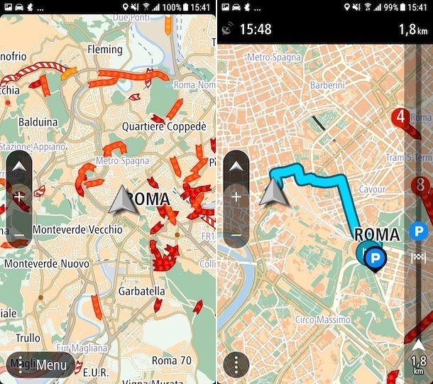 TomTom Navigatore GPS - Traffico e Autovelox