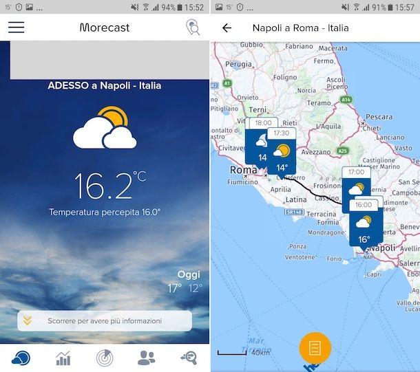 Previsioni Meteo, Radar & Widget - Morecast