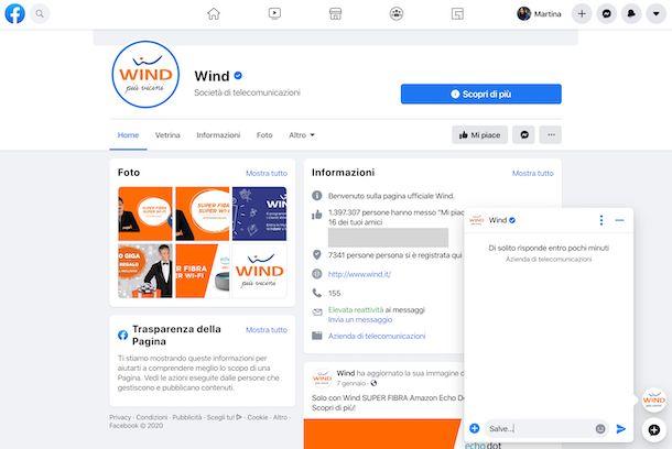 Facebook Wind