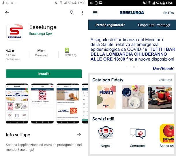 App Esselunga Android