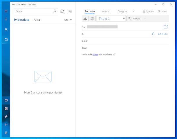 Posta Windows 10