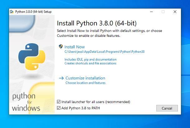 Come programmare in Python su Windows