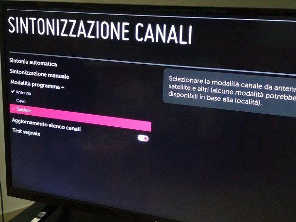 Come vedere TV satellitare su Smart TV