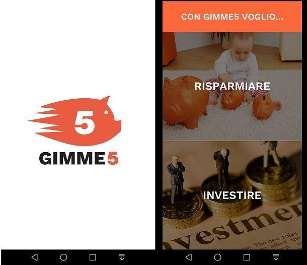 Gimme5: inizia a investire da 5 euro