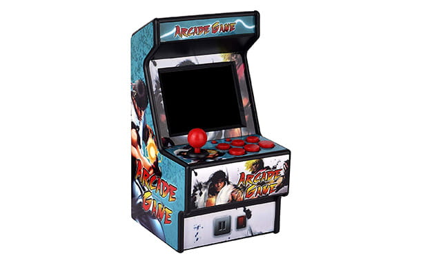 Golden Security Mini Arcade Game Machine