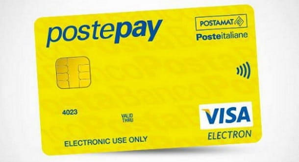 Accedere Postepay Online